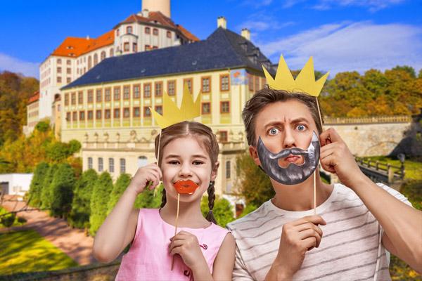 Ferienspass im Schloss Weesenstein