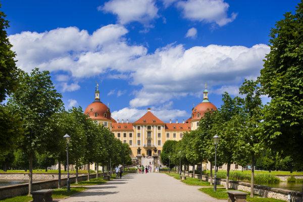 Schloss Moritzburg in Sachsen